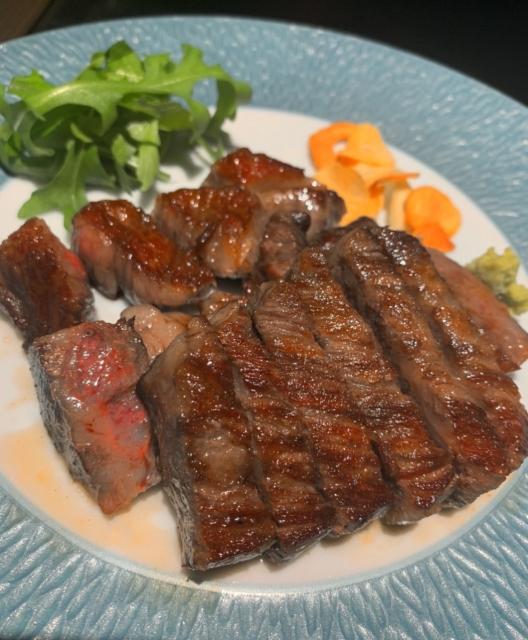 松阪牛のA5ステーキ